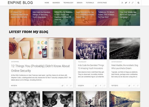 template blogger seo ready enpine blog